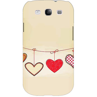 Absinthe Hearts Back Cover Case For Samsung Galaxy Grand Duos I9082