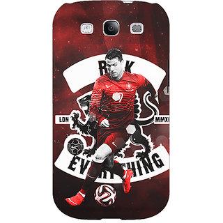 Absinthe Cristiano Ronaldo Portugal Back Cover Case For Samsung Galaxy Grand Neo GT-I9060