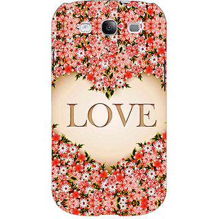 Absinthe Love Floral Back Cover Case For Samsung Galaxy Grand Neo GT-I9060