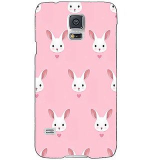 Absinthe Rabbit Back Cover Case For Samsung Galaxy S5