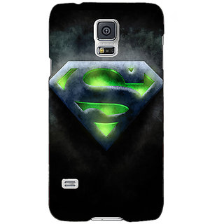 Absinthe Superheroes Superman Back Cover Case For Samsung Galaxy S5