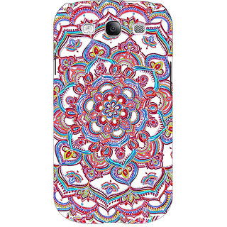 Absinthe Flower Circles Pattern Back Cover Case For Samsung Galaxy Grand Neo GT-I9060