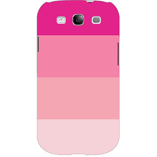 Absinthe Pink Stripes Back Cover Case For Samsung Galaxy Grand Neo GT-I9060