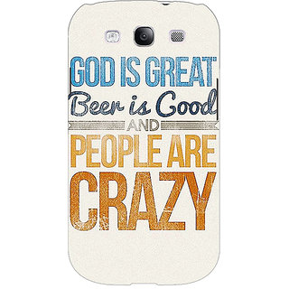Absinthe Beer Quote Back Cover Case For Samsung Galaxy Grand Neo GT-I9060