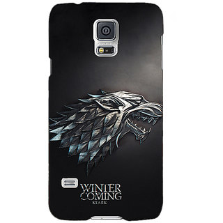 Absinthe Game Of Thrones GOT House Stark  Back Cover Case For Samsung Galaxy S5