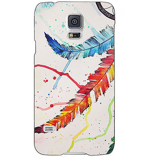 Absinthe Dream Catcher  Back Cover Case For Samsung Galaxy S5