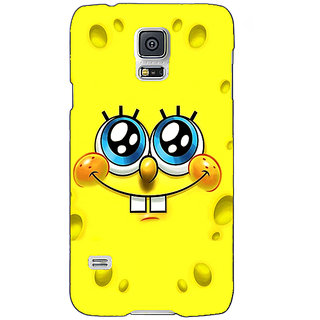 Absinthe Spongebob Back Cover Case For Samsung Galaxy S5