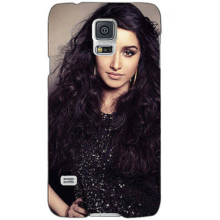 Absinthe Bollywood Superstar Shraddha Kapoor Back Cover Case For Samsung Galaxy S5