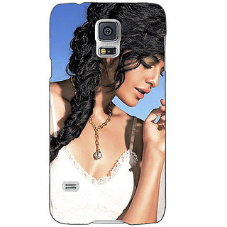Absinthe Bollywood Superstar Jacqueline Fernandez Back Cover Case For Samsung Galaxy S5