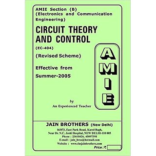 AMIE - Circuit Theory and Control (EC-404) Section (B) Solved And Unsolved Paper