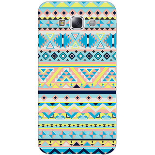 Absinthe Aztec Girly Tribal Back Cover Case For Samsung Galaxy E7