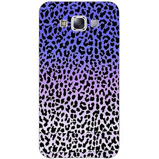 Absinthe Cheetah Leopard Print Back Cover Case For Samsung Galaxy E7