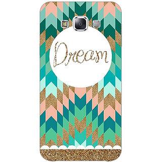 Absinthe Dream Back Cover Case For Samsung Galaxy E7