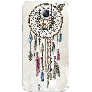 Absinthe Dream Catcher Back Cover Case For Samsung Galaxy E7