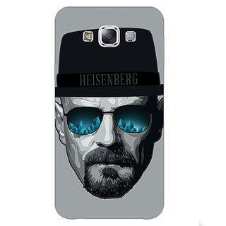 Absinthe Breaking Bad Heisenberg Back Cover Case For Samsung Galaxy E7