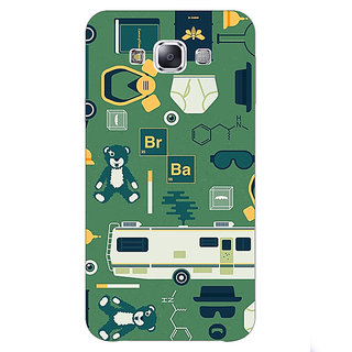 Absinthe Breaking Bad Back Cover Case For Samsung Galaxy E7