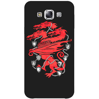 Absinthe Game Of Thrones GOT House Lannister  Back Cover Case For Samsung Galaxy E7
