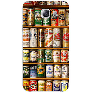 Absinthe Beer Cans Back Cover Case For Samsung Galaxy E7