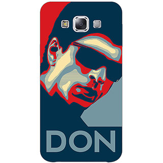 Absinthe Bollywood Superstar Don Shahrukh Khan Back Cover Case For Samsung Galaxy E5