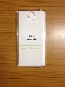 Snaptic Xolo One HD Transparent Soft Back Cover