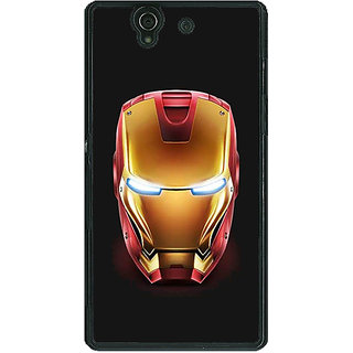 Absinthe Superheroes Ironman Back Cover Case For Sony Xperia Z