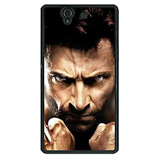 Absinthe Wolverine Hugh Jackman Back Cover Case For Sony Xperia Z