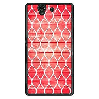 Absinthe Morocco Pattern Back Cover Case For Sony Xperia Z