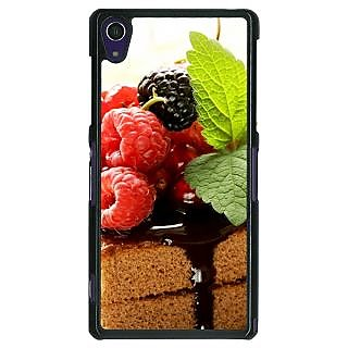 Absinthe Berry Cake Back Cover Case For Sony Xperia Z1