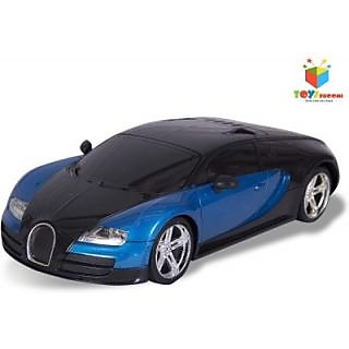 sporty 118 rc bugatti veyron rechargeable 4ch speed car blue available at sho. Black Bedroom Furniture Sets. Home Design Ideas