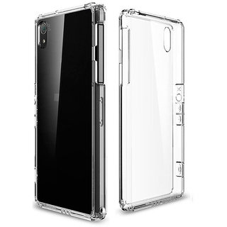 Snaptic Transparent Soft Back Cover For Vivo Y11