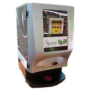 Tea and Coffee Vending Machine 2 Lane