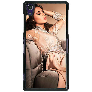 Absinthe Bollywood Superstar Nargis Fakhri Back Cover Case For Sony Xperia Z1