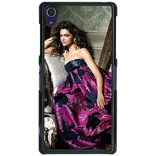 Absinthe Bollywood Superstar Deepika Padukone Back Cover Case For Sony Xperia Z1