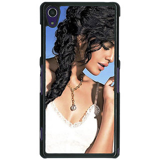 Absinthe Bollywood Superstar Jacqueline Fernandez Back Cover Case For Sony Xperia Z1