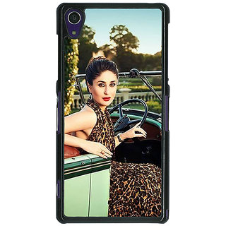 Absinthe Bollywood Superstar Kareena Kapoor Back Cover Case For Sony Xperia Z1