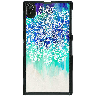 Absinthe Royal Queen Pattern Back Cover Case For Sony Xperia Z2