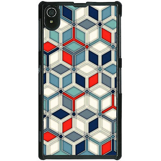 Absinthe Wild Hexagon Pattern Back Cover Case For Sony Xperia Z2
