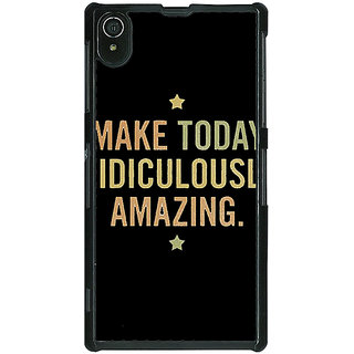 Absinthe Quotes Beautiful Back Cover Case For Sony Xperia Z2