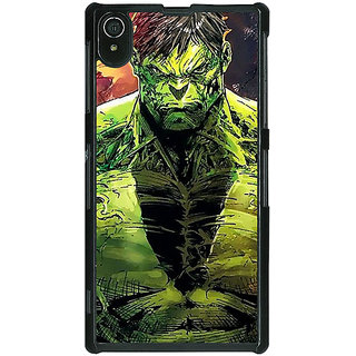 Absinthe The Incredible Hulk Back Cover Case For Sony Xperia Z2