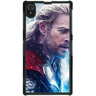 Absinthe Thor  Back Cover Case For Sony Xperia Z2