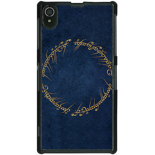 Absinthe LOTR Hobbit  Back Cover Case For Sony Xperia Z2
