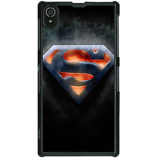Absinthe Superheroes Superman Back Cover Case For Sony Xperia Z2