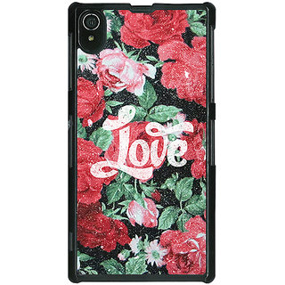 Absinthe Floral Pattern  Back Cover Case For Sony Xperia Z2