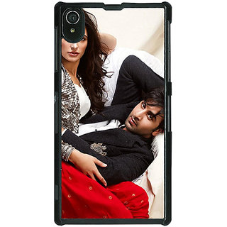 Absinthe Bollywood Superstar Nargis Fakhri Ranbir Kapoor Back Cover Case For Sony Xperia Z2