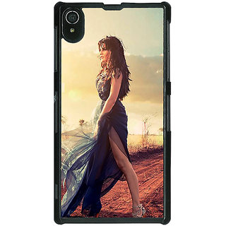 Absinthe Bollywood Superstar Jacqueline Fernandez Back Cover Case For Sony Xperia Z2