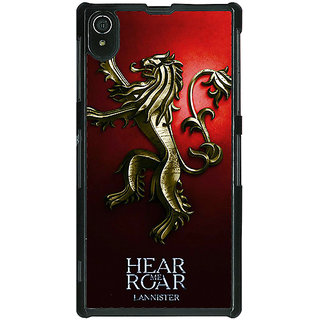 Absinthe Game Of Thrones GOT House Lannister Back Cover Case For Sony Xperia Z2