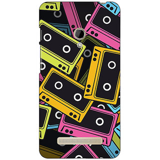 Absinthe Casettes Back Cover Case For Asus Zenfone 5