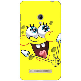 Absinthe Spongebob Back Cover Case For Asus Zenfone 5