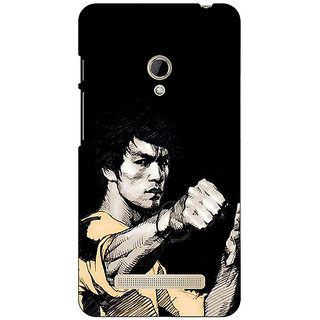 Absinthe Bruce Lee Back Cover Case For Asus Zenfone 5