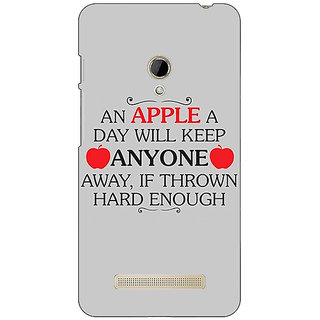Absinthe Apple Quote Back Cover Case For Asus Zenfone 5